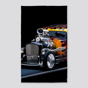 Hot Rod Area Rug