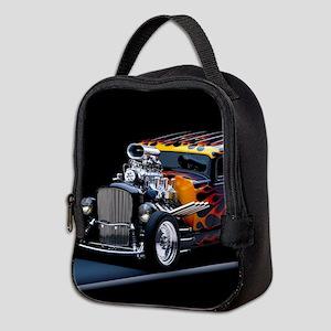 Hot Rod Neoprene Lunch Bag