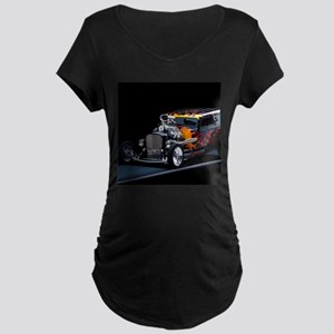 Hot Rod Maternity T-Shirt