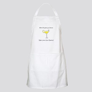 Lemon Drop Martinis Light Apron