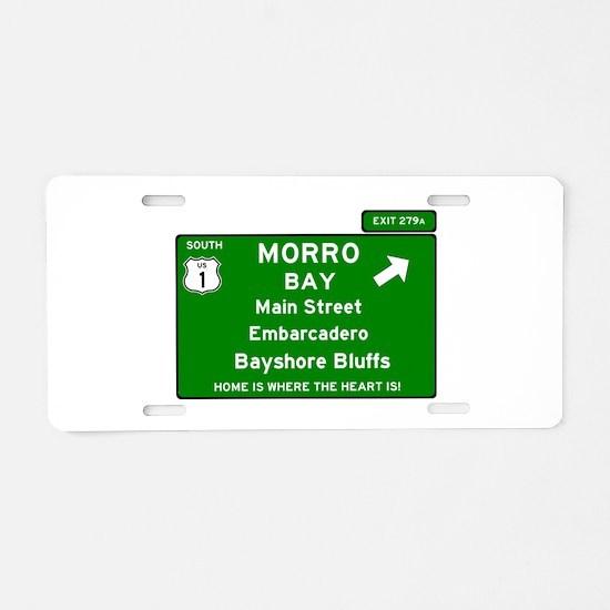 HIGHWAY 1 SIGN - CALIFORNIA Aluminum License Plate