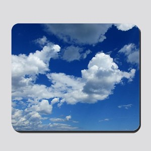 Floating In the Clouds Mousepad