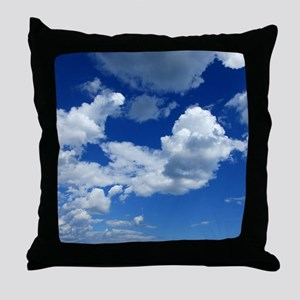 Floating In the Clouds Throw Pillow