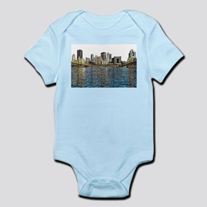 Pittsburgh City Sketch 4x6 Body Suit
