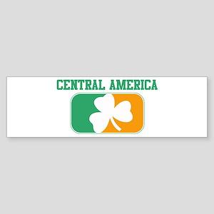 CENTRAL AMERICA irish Bumper Sticker