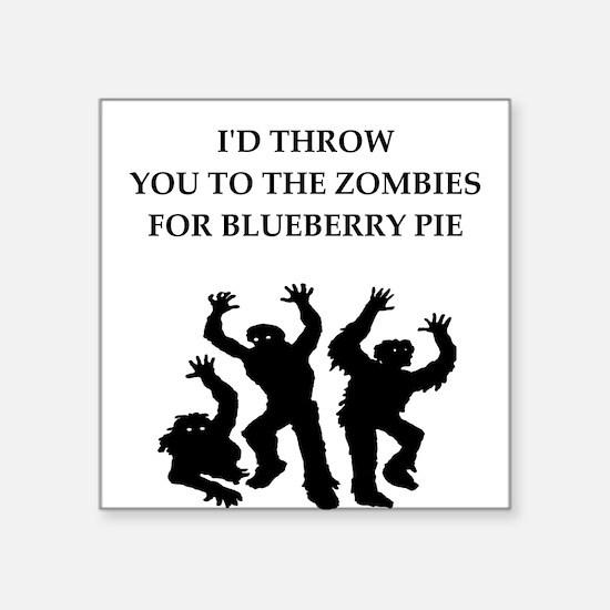 blueberry pie Sticker