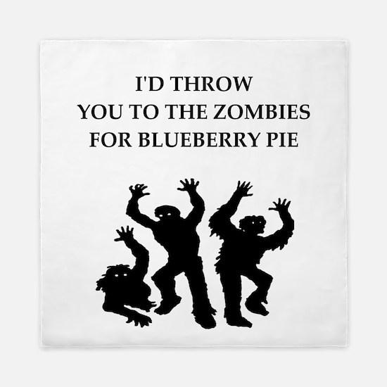 blueberry pie Queen Duvet