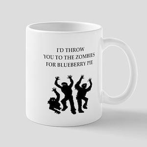blueberry pie Mugs