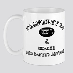 Property of a Health And Safety Adviser Mug