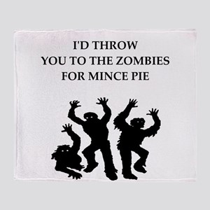 mince Throw Blanket
