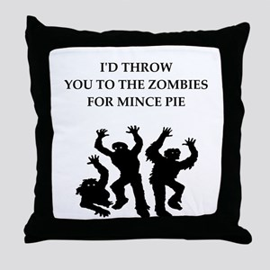 mince Throw Pillow