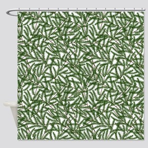 Pine Time Shower Curtain