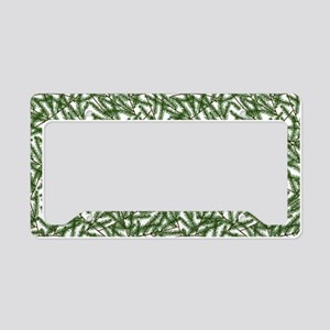 Pine Time License Plate Holder
