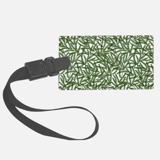 Pine Time Luggage Tag