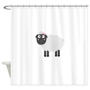 Sheep Farm Shower Curtains