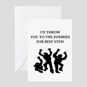 beef stew Greeting Cards