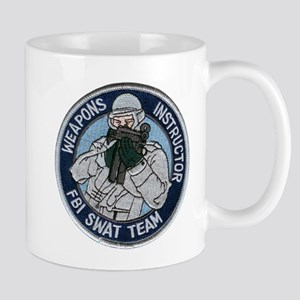 FBI Weapons Instructor Mug
