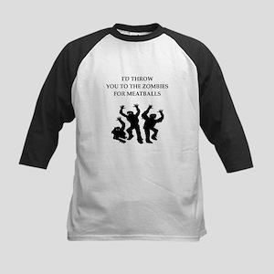 Zombie meat joke on gifts and t-shirts. Baseball J