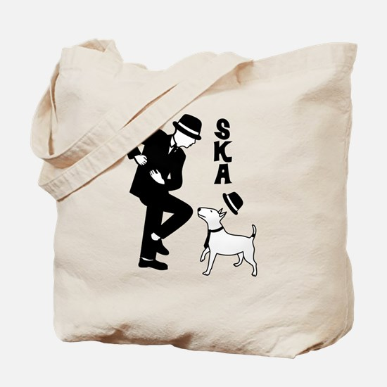 Rude Boy and Winston Tote Bag