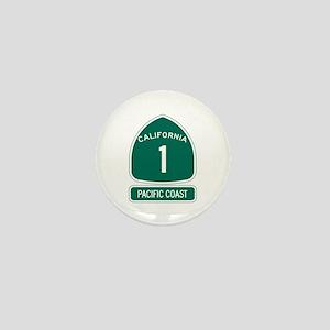 California 1 Pacific Coast Mini Button