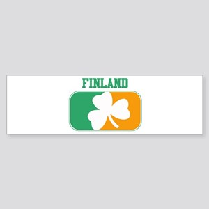 FINLAND irish Bumper Sticker