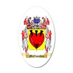 McClanahan 35x21 Oval Wall Decal