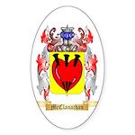 McClanachan Sticker (Oval 50 pk)