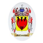McClanachan Oval Ornament
