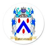 McClafferty Round Car Magnet