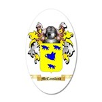 McCausland 35x21 Oval Wall Decal