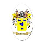 McCausland 35x21 Oval Wall Decal