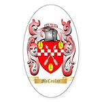 McCaulay Sticker (Oval 10 pk)