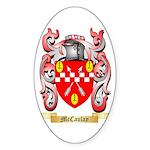 McCaulay Sticker (Oval 50 pk)