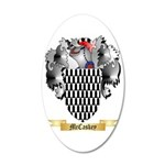 McCaskey 35x21 Oval Wall Decal