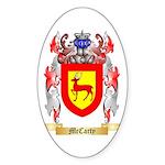 McCarty Sticker (Oval 10 pk)
