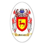 McCarty Sticker (Oval 50 pk)