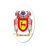 McCarty 20x12 Oval Wall Decal