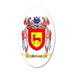 McCarty 35x21 Oval Wall Decal