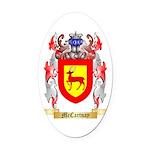McCartnay Oval Car Magnet