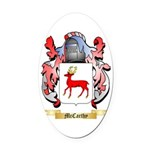 McCarthy Oval Car Magnet