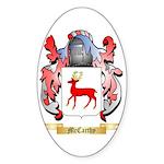 McCarthy Sticker (Oval 50 pk)