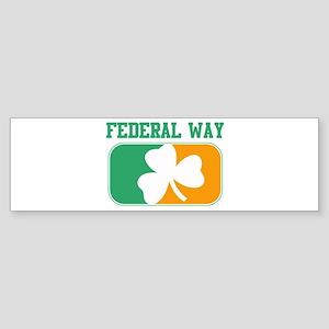 FEDERAL WAY irish Bumper Sticker