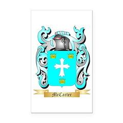 McCarter Rectangle Car Magnet