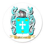 McCarter Round Car Magnet