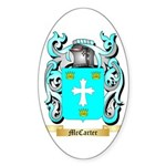 McCarter Sticker (Oval 10 pk)