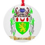 McCarten Round Ornament