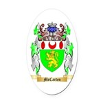 McCarten Oval Car Magnet