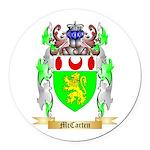 McCarten Round Car Magnet