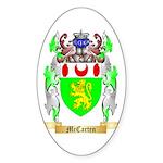McCarten Sticker (Oval)