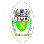 McCarten Sticker (Oval 10 pk)